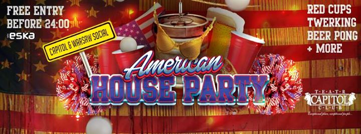 Free American House Party with Warsaw Social