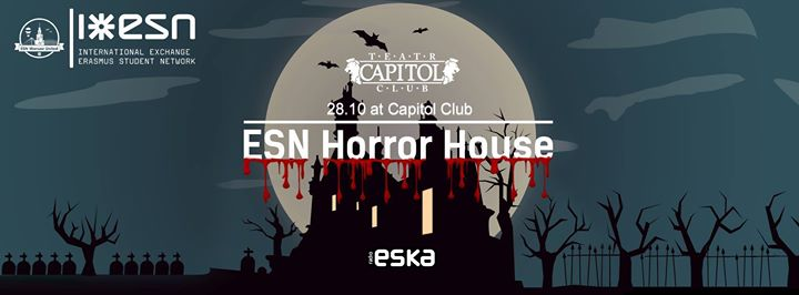 ESN Horror House at Capitol Club 28.10.16