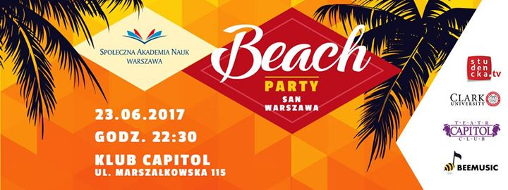 SAN Beach Party :P